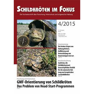 Schildkröten im Fokus - Ausgabe 4/2015