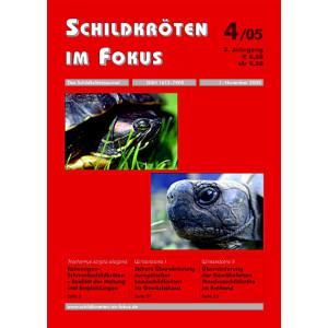 Schildkröten im Fokus - Ausgabe 4/2005