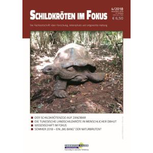Schildkröten im Fokus - Ausgabe 4/2018