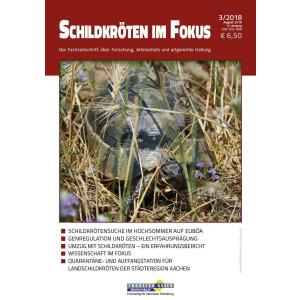 Schildkröten im Fokus - Ausgabe 3/2018