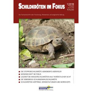 Schildkröten im Fokus - Ausgabe 1/2018